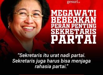 Megawati Beberkan Peran Penting Sekretaris Partai