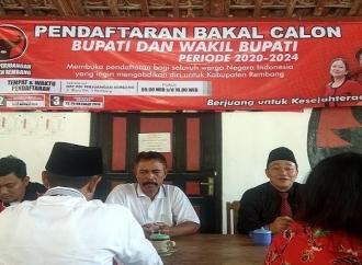 PDI Perjuangan Rembang Buka Pendaftaran Cakada