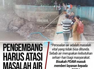 Gembong Minta Pengembang Harus Atasi Masalah Air Warga PIK
