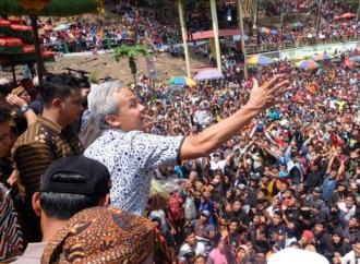 Yaqowiyyu, Ganjar Pimpin Doa Kelancaran Pelantikan Presiden