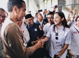 Pelantikan Presiden, Kirana Ucapkan Selamat ke Jokowi