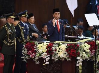 Presiden Jokowi Sampaikan Pepatah Bugis di Akhir Pidato