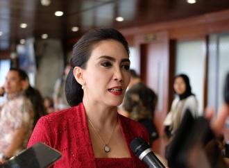 Ini Tanggapan Rieke Akan Pidato Perdana Presiden Jokowi