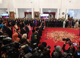 Presiden Jokowi Lantik Kabinet Indonesia Maju