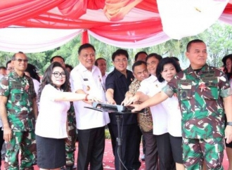 'Ground Breaking' RSUD, Ini Pesan Olly Dondokambey