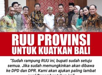 Wayan Koster: RUU Provinsi Diajukan untuk Kuatkan Bali