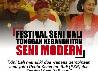 Festival Seni Bali Tonggak Kebangkitan Seni Modern