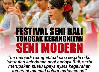 Festival Seni Bali adalah Tonggak Kebangkitan Seni Modern