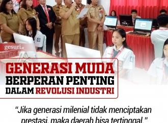 Generasi Muda Harus Berperan Penting dalam Revolusi Industri