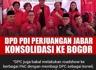 PDI Perjuangan Jawa Barat Konsolidasi ke Bogor