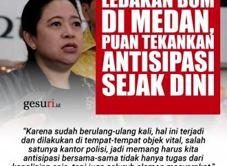 Ledakan Bom di Medan, Puan Tekankan Antisipasi Dini