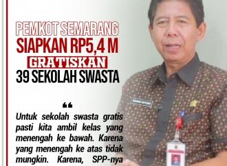 Pemkot Semarang Siapkan Rp5,4 M Gratiskan Sekolah Swasta