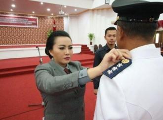 Karolin Sial Kawal Program-program Jokowi-Ma'ruf