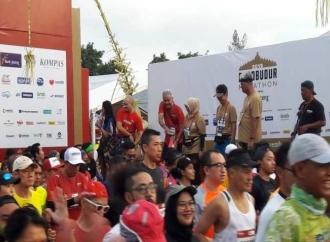 Ganjar Meriahkan Borobudur Marathon 2019