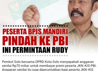 Penerima BPJS Mandiri Pindah ke PBI, Ini Permintaan Rudy