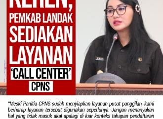 Keren, Pemkab Landak Sediakan Layanan 'Call Center' CPNS