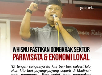 Whisnu Pastikan Dongkrak Sektor Pariwisata dan Ekonomi Lokal