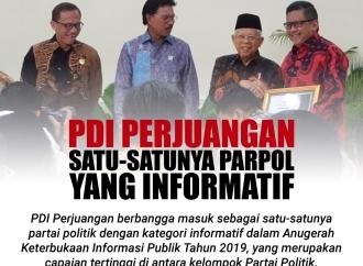 PDI Perjuangan Satu-satunya Partai Politik yang Informatif