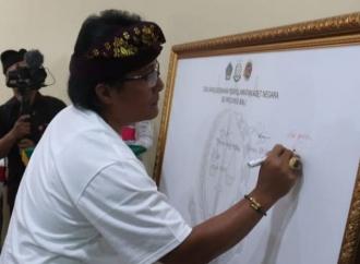 Bupati Badung Deklarasikan Gerakan Penyelamatan Aset Negara