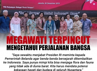 Megawati Terpincut untuk Mengetahui Perjalanan Bangsa