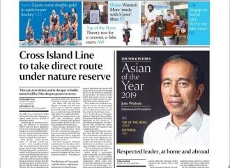The Straits Times Nobatkan Jokowi 'Asian of the Year 2019'