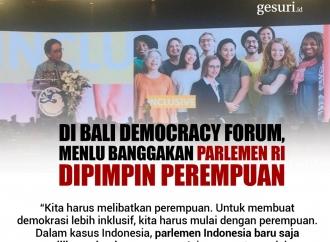 Menlu Retno Banggakan Parlemen RI yang Dipimpin Perempuan