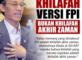 Hamka Haq: Khilafah Versi FPI Bukan Khilafah Akhir Zaman