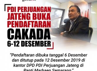 Daftar Pilkada, PDI Perjuangan Jateng Banjir Kader Solo Raya