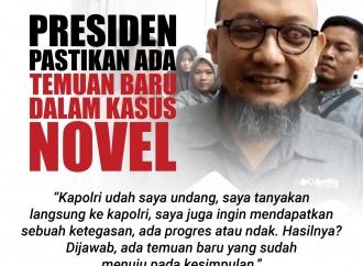 Presiden Pastikan Ada Temuan Baru Kasus Novel Baswedan