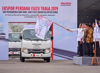 Ekspor Isuzu Traga, Jokowi Tantang Lepas 1 Juta Unit