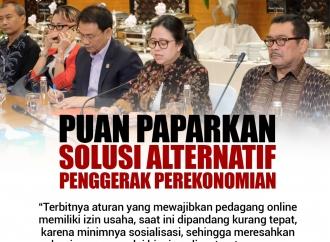 Puan Paparkan Solusi Alternatif Penggerak Perekonomian