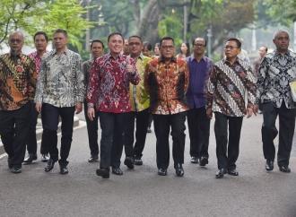 Presiden: PSSI Perhatikan Pemain, Wasit, Pelatih Pensiun
