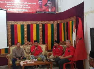 Hadapi Pemilu, PDI Perjuangan Aceh Selatan Gelar Rakorcab