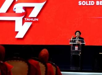 Megawati Beri Pengarahan Jelang Penutupan Rakernas