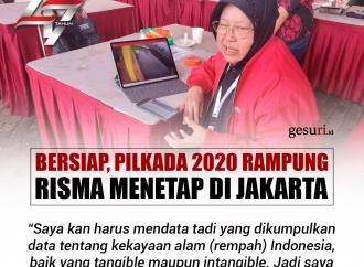 Bersiap, Pilkada 2020 Rampung Risma Menetap di Jakarta
