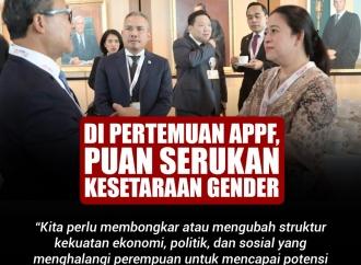 Di Pertemuan APPF, Puan Menyerukan Kesetaraan Gender