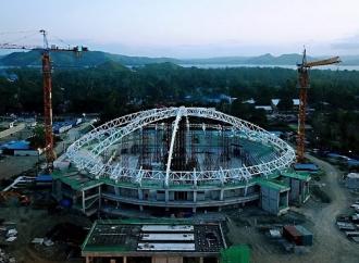 PON XX, Penataan Kawasan Olahraga di Papua Tepat Waktu