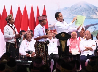 Presiden Bagikan 2.500 Sertifikat Tanah Rakyat Labuan Bajo