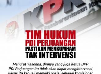 Tim Hukum PDI Perjuangan Pastikan Menkumham Tak Intervensi