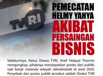 Pemecatan Helmy Yahya dari TVRI Akibat Persaingan Bisnis