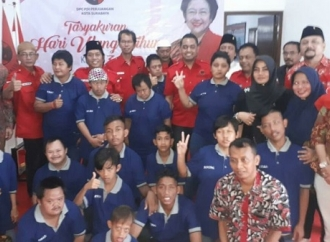 Ultah Megawati, Anak Yatim & Disabilitas Gelar Doa Bersama