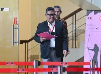 Hasto Sambangi KPK, Bukti PDI Perjuangan Taat Hukum