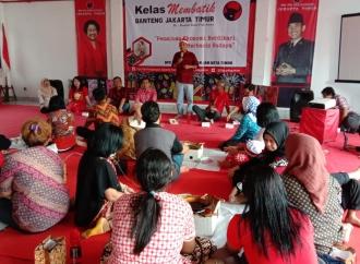 """DPC PDI Perjuangan Jaktim Gelar """"Workshop"""" Membatik"""