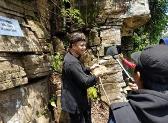 Batu Bersusun Ciamis Lebih Luas dari Borobudur