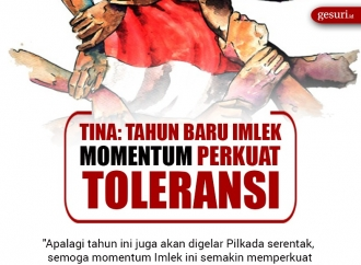 Tina Toon: Tahun Baru Imlek Momentum Perkuat Toleransi