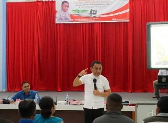 Ansy Lema Ajak Mahasiswa Pertahankan Pancasila