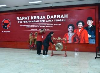 Rapat Kerja Daerah DPD PDI Perjuangan Jawa Tengah