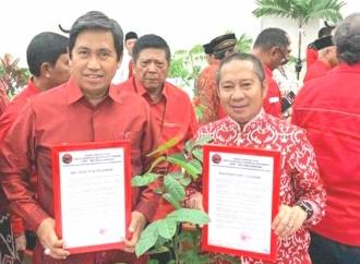 Pilkada Banggai, PDI Perjuangan Kembali Usung Petahana