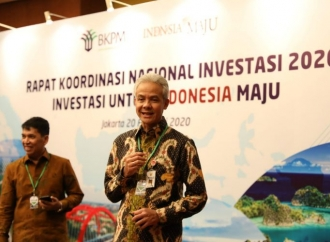 Ganjar Optimistis Jateng Capai Target Investasi 2020