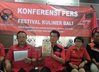 PDI Perjuangan Bali Akan Hadirkan Festival Kuliner